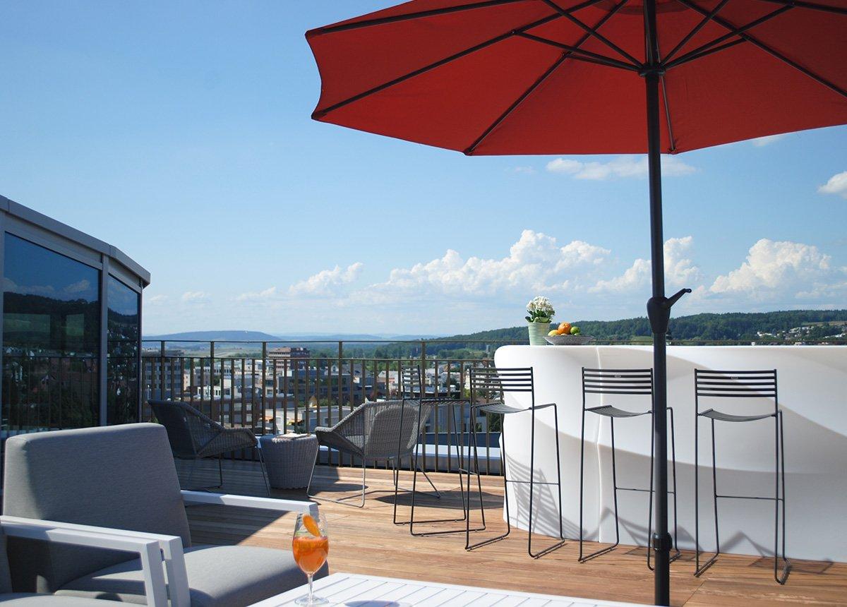 Rooftop PIZ - Meeting und Events im Hotel Allegra Lodge beim Zürich-Flughafen - welcome hotels