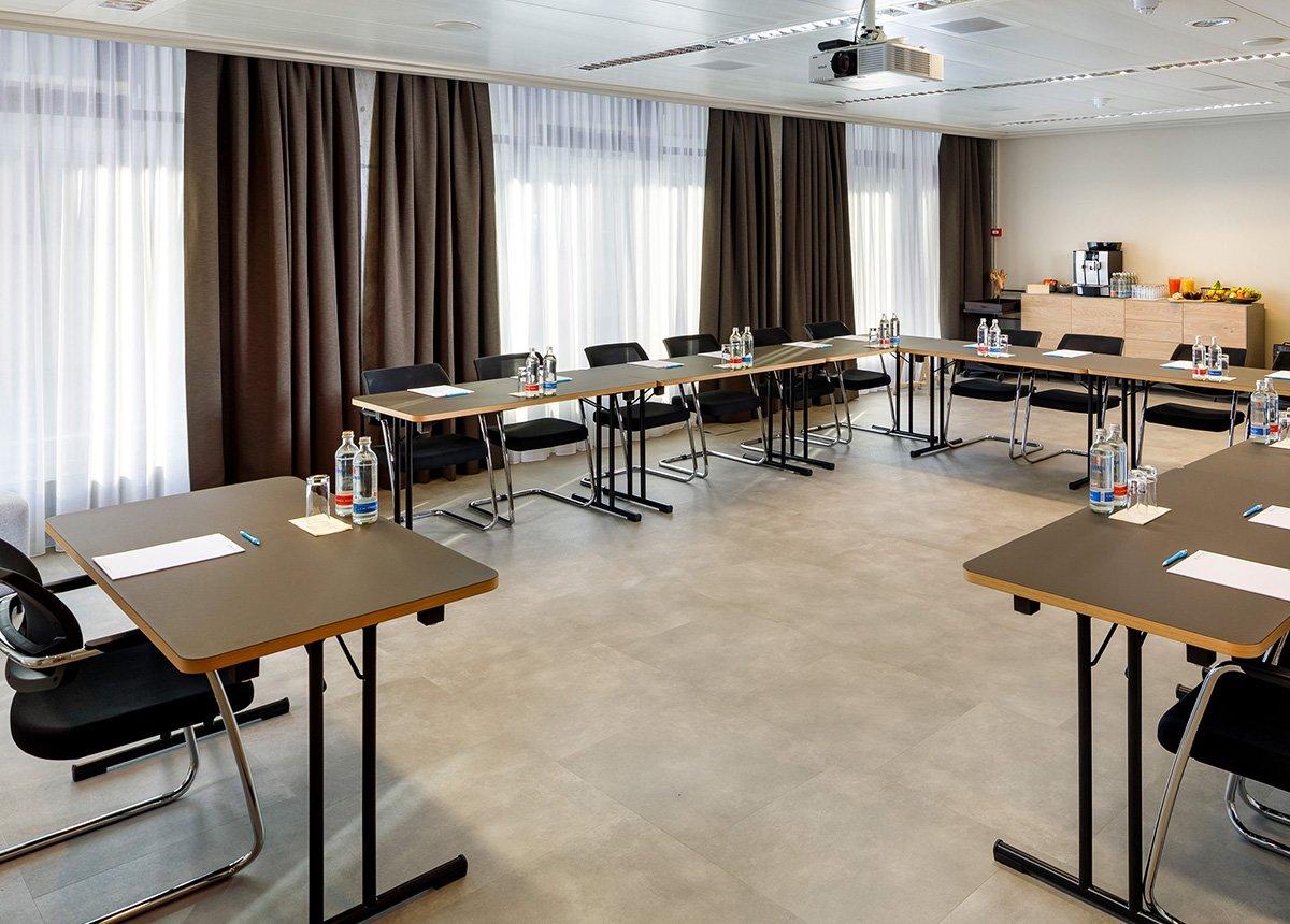Meetingraum Gian & Giachen, Hotel Allegra Lodge, Zurich Airport