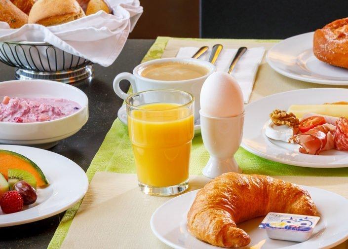 Breakfast Hotel Allegra, Zurich Airport, welcome hotels