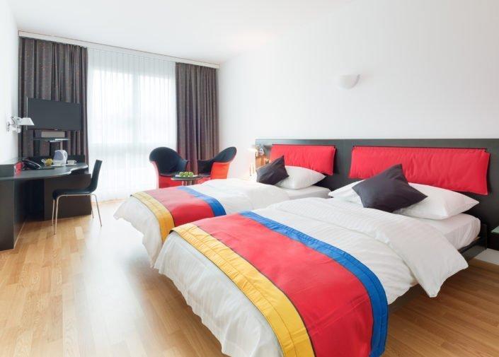 Twin Room Hotel Allegra, Zurich Airport, welcome hotels