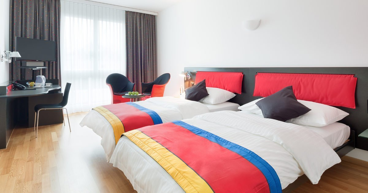 Twin Room Hotel Allegra, Zurich Airport, welcome hotels