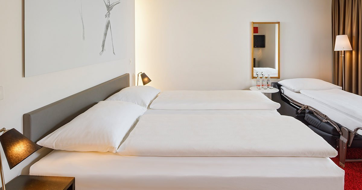 Triple Room Hotel Balade, Basel, welcome hotels