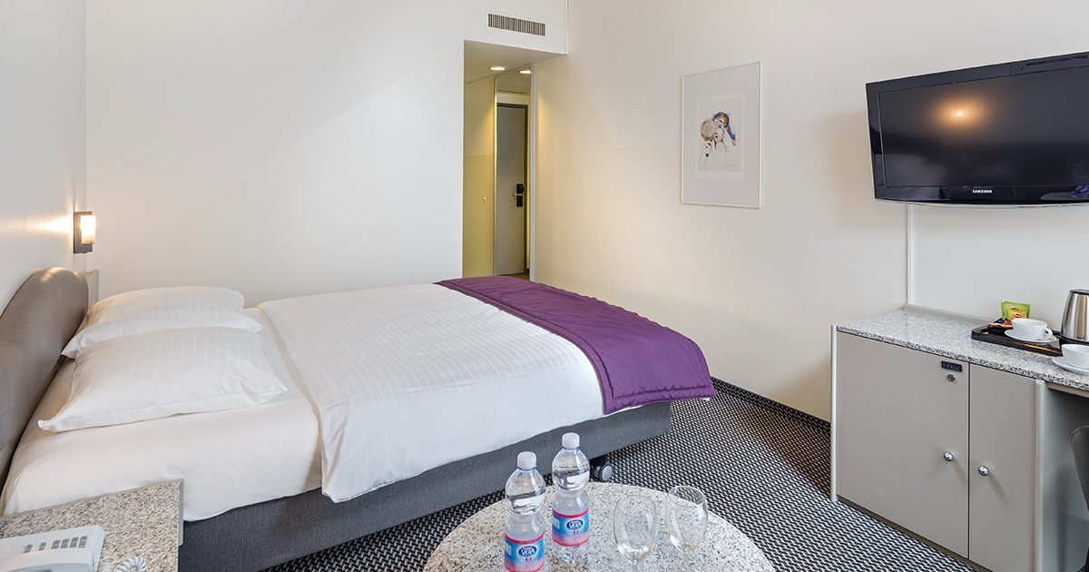 Double Room Hotel Fly away, Zurich Airport, welcome hotels