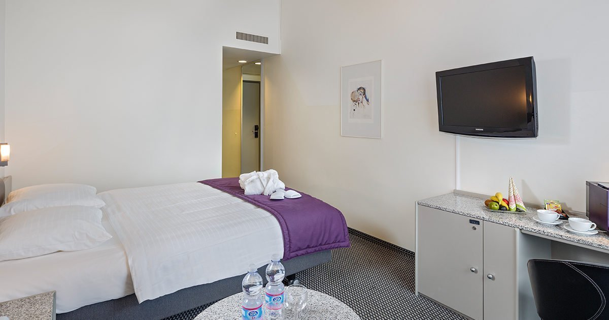 Double Room Comfort Hotel Fly away, Zurich Airport, welcome hotels