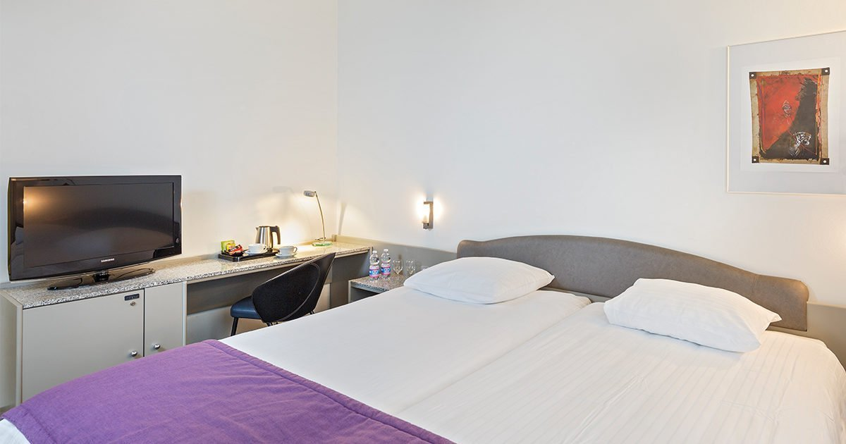 Twin Room Hotel Fly away, Zurich Airport, welcome hotels