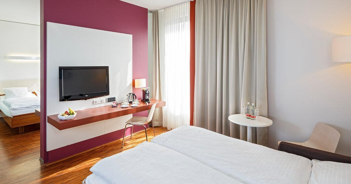 Family Room Hotel Stücki, Basel, welcome hotels