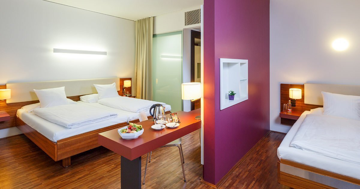 Triple Room Hotel Stücki, Basel, welcome hotels
