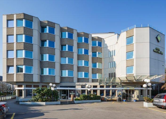 Aussenansicht Hotel Welcome Inn, Zürich-Flughafen, welcome hotels