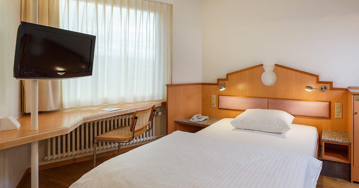 Single Room Classic Hotel Welcome Inn, Zurich Airport, welcome hotels