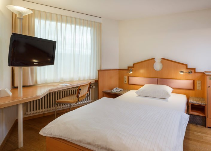 Einzelzimmer Classic Hotel Welcome Inn, Zürich-Flughafen, welcome hotels