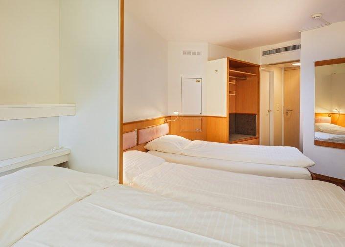 Dreibettzimmer Hotel Welcome Inn, Zürich-Flughafen, welcome hotels