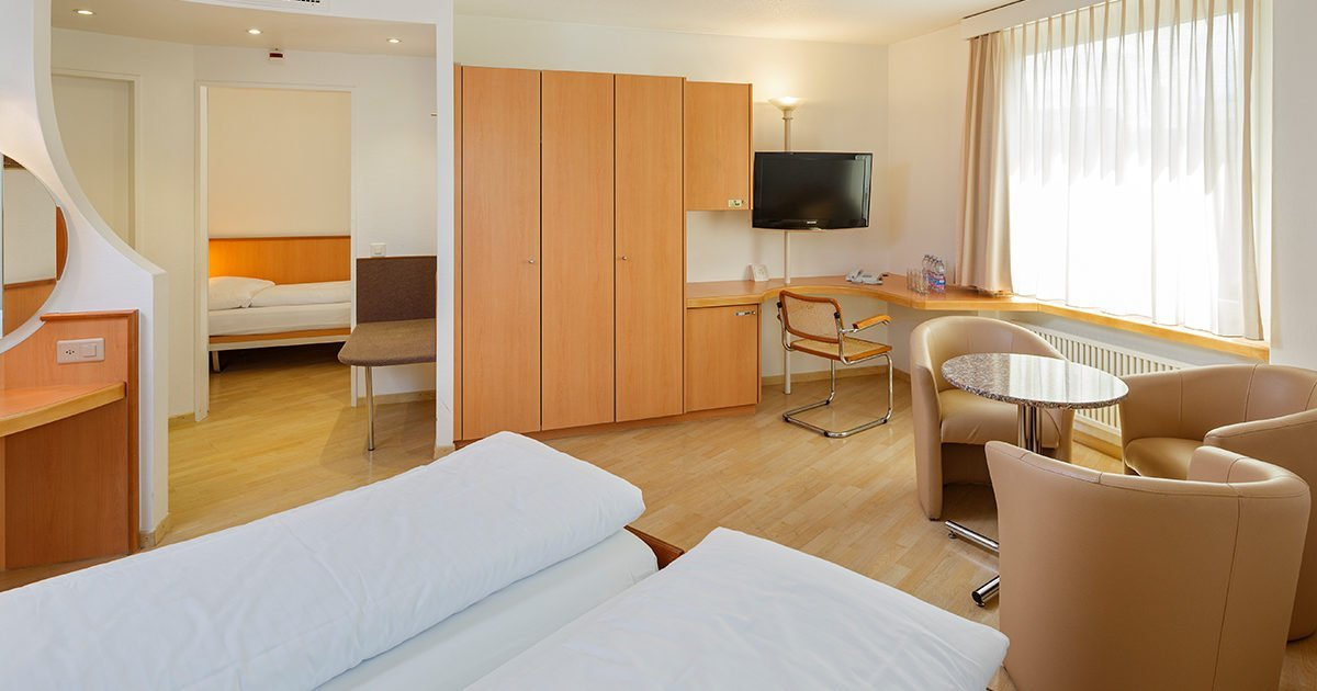 Vierbettzimmer Hotel Welcome Inn, Zurich Airport, welcome hotels
