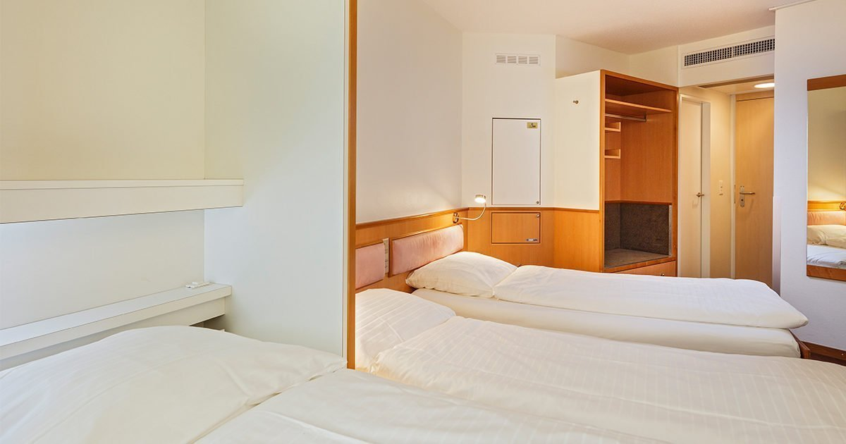 Dreibettzimmer Hotel Welcome Inn, Zurich Airport, welcome hotels