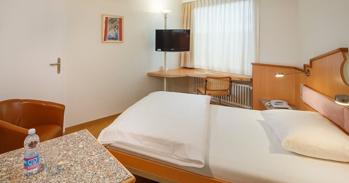 Einzelzimmer Classic Hotel Welcome Inn, Zurich Airport, welcome hotels