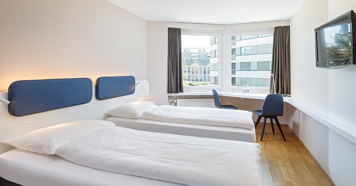 Zweibettzimmer Hotel Welcome Inn, Zurich Airport, welcome hotels