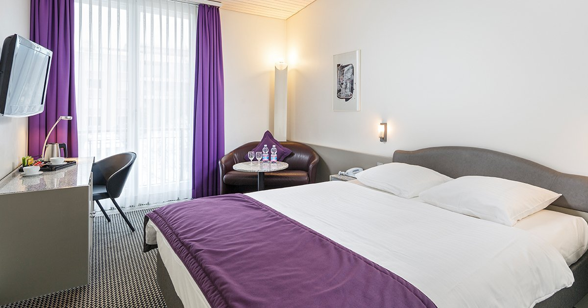 Doppelzimmer Hotel Fly away, Zurich Airport, welcome hotels