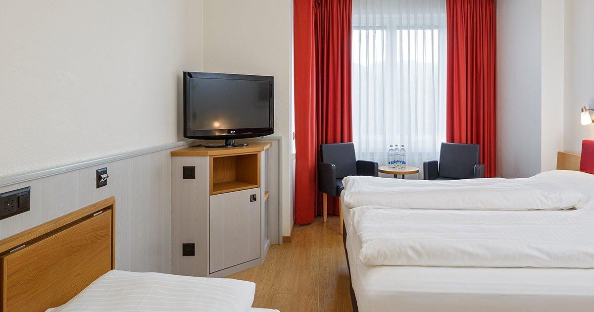Chambre triple à trois lits Hôtel Coronado, Zurich, welcome hotels